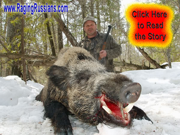 Russian Boar Hunt and the 30-30 Winchester, a North American Classic